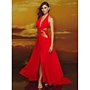 Alluring A-Line Maxi Halter Prom / Evening Dress (HSX311)