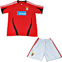 Sl benfica 08-09 Home Soccer Jersey & Short Kit (GZZQH010)