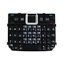 piezas de reparación de reemplazo del teclado para teléfono celular Nokia E71 (negro)