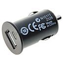Cargador de Coche a USB  de 5V - 1 A  Adaptador (CC 12V)