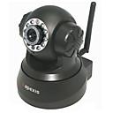 ápices - cámara inalámbrica de vigilancia IP con alerta de correo electrónico (detección de movimiento, visión nocturna, negro)