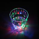 Colorido Vaso de Luces LED de Whisky