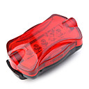 HY-198 5 LED Bicycle Safety Light Warning light 2XAA