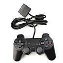 descarga de doble panel de control para PS2 (negro)