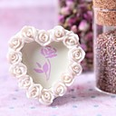 Heart Shaped Pearl Photo Frame/Placecard Holder