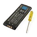 3.7V 2000mAh batería recargable Li-ion para nintendo ndsi ll y xl ndsi con un destornillador