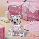 cristal oso de peluche de recuerdo para el bebé