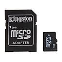 1gb tarjeta de memoria microSD y el adaptador de microSD