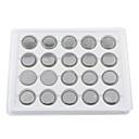 Pilas de Botón de Litio de Alta Capacidad CR2043 3V (Pack de 20)