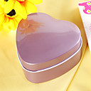 Lilac Heart Shaped Favor Tin (Set of 12)