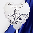 Personalized Heart-shaped Wedding Balloon - Orchid