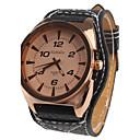 analógicas de la mujer relojes de pulsera de cuarzo (negro)