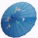 azul royal sombrilla de seda
