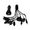 10 en 1 USB multi-cargador de cable para / iphone / ipod / ipad samsung / lg / Nokia / Sony Ericsson / Motorola / psp