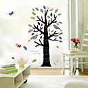 colorido árbol de pegatinas de la pared (1985-p10)
