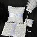 blanco de la boda rosa colección de conjuntos (3 piezas)