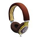 3,5 mm estéreo multi-patrón de estilo sobre la oreja los auriculares