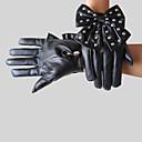 alcance de la mano de imitación de cuero largo de muñeca fiesta / noche, guantes