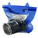 Bolsa Impermeable para Cámara DSLR SLR Alta Calidad para Fotografías Bajo el Agua (Azul)