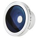 180 ° lente ojo de pez para el teléfono móvil y cámara digital