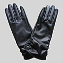 alcance de la mano de imitación de cuero hasta el codo fiesta / noche, guantes