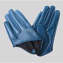 alcance de la mano de imitación de cuero largo de muñeca guantes de fiesta