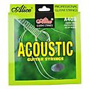 alice - (A408-l) de acero cuerdas de guitarra acústica (012-053)