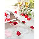 cristal de rosas rojas pastel de bodas para Servir