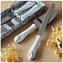 cala diseño de la torta cuchillo y Servir