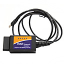 ELM327 Interfaz USB v1.4 OBD 2 herramienta de auto diagnóstico del escáner