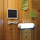 5 LED blanco arrojar luz solar