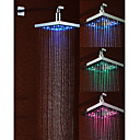 Chrome LED Rain Shower Head 1039-M4302