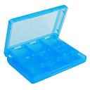 28-en-1 de almacenamiento de los casos del juego de cartas para NDSi, DS Lite y 3DS (azul)