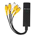 4 canales de vídeo DVR USB 2.0 de captura de un sistema de vigilancia