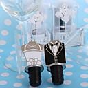 I Do! I Do! Bride and Groom Bottle Stoppers(set of 2)