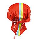 100% kooplus-los hombres de poliéster bicicleta pañuelo en la cabeza (rojo)