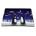 pingüinos plataforma de juego del ratón óptico (9 x 7 pulgadas)