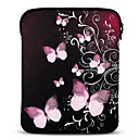 Butterfly Neoprene Tablet Sleeve Case for 10 Samsung Galaxy Tab2 iPad Motorola Xoom