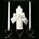 clásicas velas de la boda de unidad con arco banda (no incluye titular de la vela)