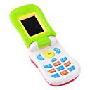 bebé de educación musical de juguete de la célula teléfono con efectos de sonido (3xag3)