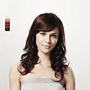 sin tapa cuerpo largo y rizado castaño cabello humano 100% 5 colores a elegir
