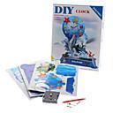19 Piezas DIY 3D Puzzle Delfín alarma (dificultad 4 de 5)