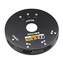 3 puertos HDMI 1.3 Interruptor Selector
