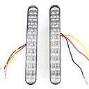 Auto Car white 10W 20 LED Daytime Running Fog Light
