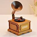 diseño clásico fonógrafo caja de música