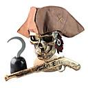 Bronce Pirata de Halloween Disfraces Casco Máscara de Armas