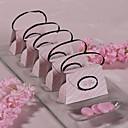 bolsa de color rosa a cuadros a favor el cuadro (juego de 12)