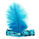 Azul indio estilo piel de Halloween Headband (1 pieza)