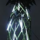 20cm Festival decoración blanca del LED Luces de meteoros de lluvia para la fiesta de Navidad (8-Pack, 110-220V)