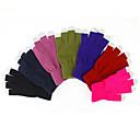 Guantes de colores de la pantalla táctil de lana